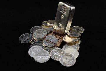 Silberanlage - Falle