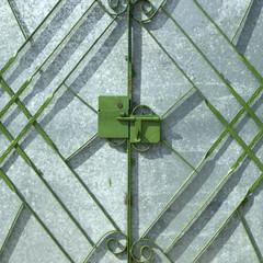 Green metal gate