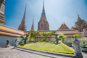 WAT PO Bangkok. The most famous temple in Thailand