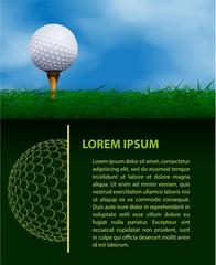 Golf design template