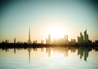 Beautiful beach and sea in  Dubai