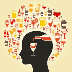 Alcohol a head