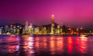 Foto auf Acrylglas Hongkong Hong Kong.