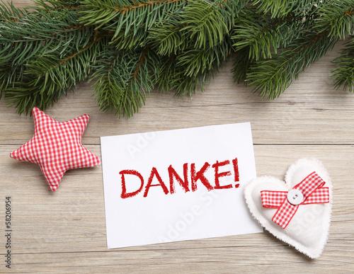 danke gutschein weihnachten stockfotos und lizenzfreie bilder auf bild 58206954