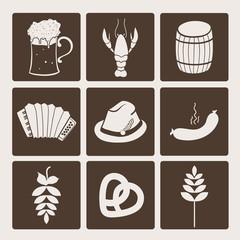Oktoberfest icons