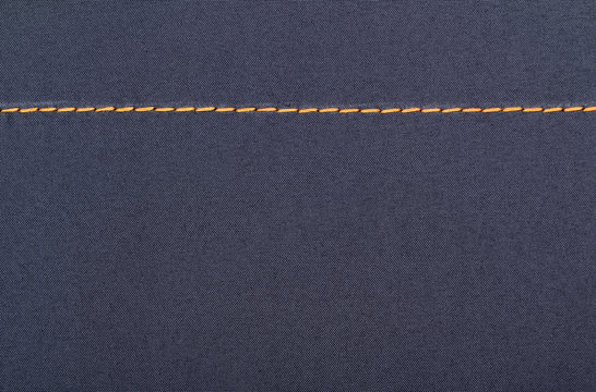Fabric texture with stitch