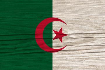 Foto op Aluminium Algerije flag of Algeria