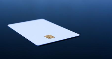 Empty credit card
