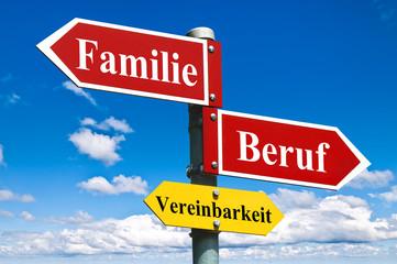Vereinbarkeit von Familie und Beruf