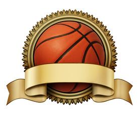 Wall Mural - Basketball award