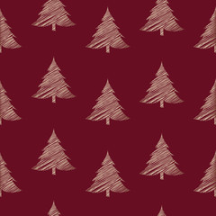 seamless Christmas pattern with special design