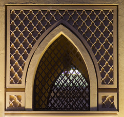 Islamic design window