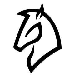 Black Horse Icon