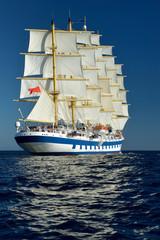 Sailing ship. Series sailboats world
