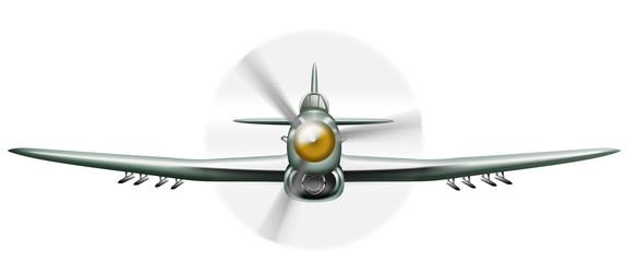 Oldtimer Kampfflugzeug Hawker Typhoon 2. Weltkrieg