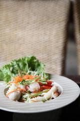 spicy Thai-style salad