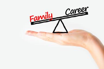 Balance Family versus career