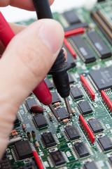 Repair computer board
