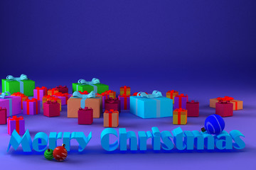 Image of congratulation for Christmas