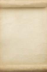 parchment scroll as background