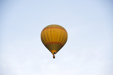 Low angle view of a hot air balloon, Pushkar, Ajmer, Rajasthan, India