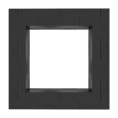 Frame background Black nylon
