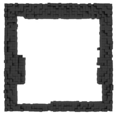 Frame background cube