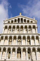 Low angle view of a cathedral, Pisa Cathedral, Piazza Dei Miracoli, Pisa, Tuscany, Italy