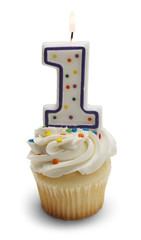 Baby Birthday Cupcake