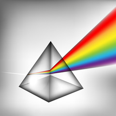 Prism with light eps10