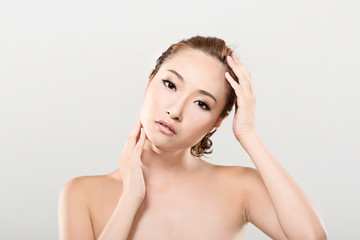 Asian beauty face portrait