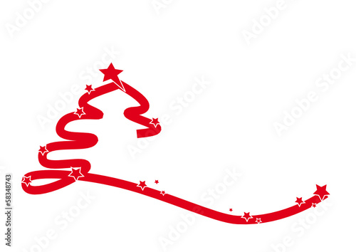 roter moderner weihnachtsbaum stockfotos und lizenzfreie. Black Bedroom Furniture Sets. Home Design Ideas