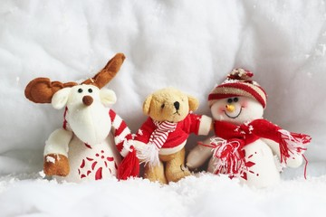 Peluches de Noël