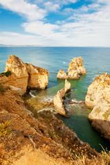 Wall Mural - Felsküste Algarve Portugal