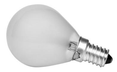 Close-up of an energy efficient light bulb