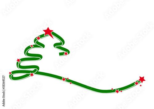 gr ner moderner weihnachtsbaum stockfotos und. Black Bedroom Furniture Sets. Home Design Ideas