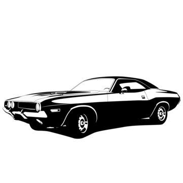 muscle car profile