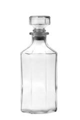 Glass bottle empty