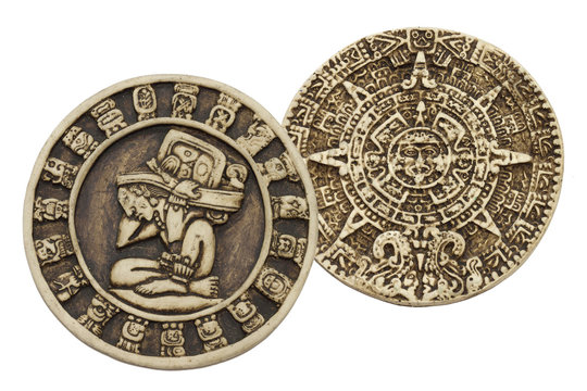 Calendarios Maya y azteca