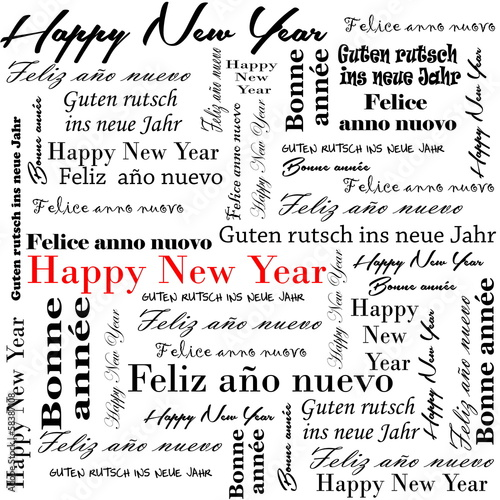 2014 new year words\