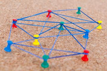 Symbolbild Netzwerken