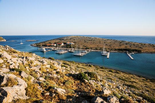 View on the marina, Croatia
