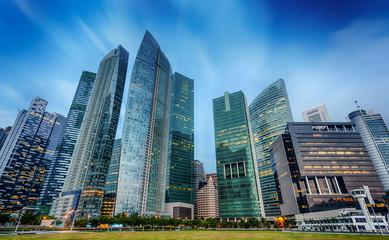 Foto op Plexiglas Singapore Landscape of the Singapore