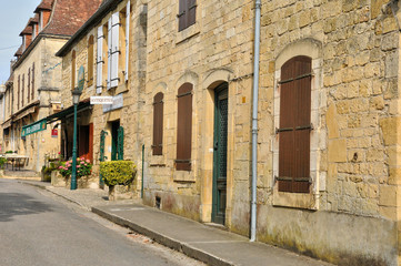 France, picturesque village of Domme