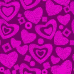 Valentine day seamless background pattern
