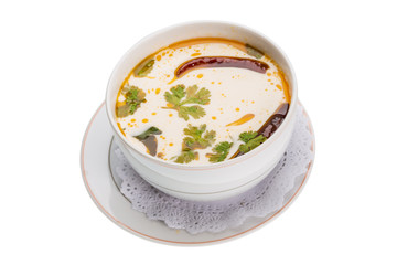 Thai famous soup Thom Yam