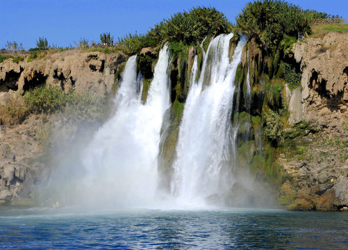 Waterfall in Mideterranean