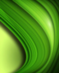 Abstract green background, vector design