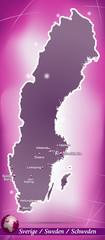 Schweden Abstrakter Hintergrund in Violett
