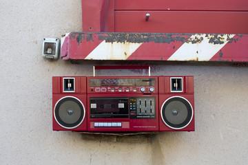 radio outside